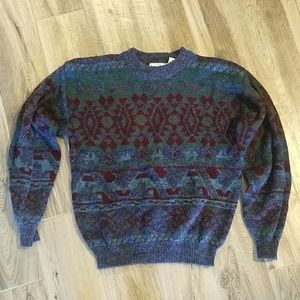 Cosby 1980's Sears Men's Store Sweater